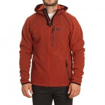 Helly Hansen Vanir Fleece Jacket Red Brick