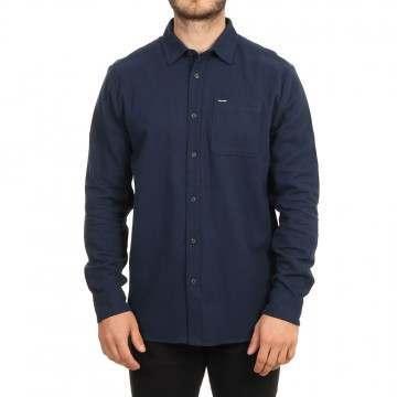 Volcom Caden Solid Shirt Navy