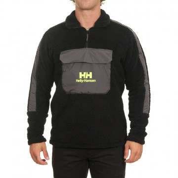 Helly Hansen YU 1/2 Zip Pile Sweater Black
