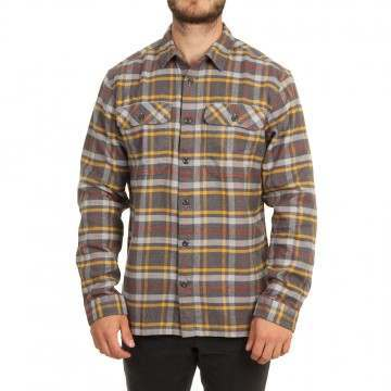 Patagonia Fjord Flannel Shirt Independence Grey