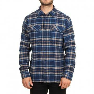 Patagonia Fjord Flannel Shirt Independence Navy