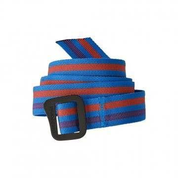 Patagonia Friction Belt Fitz Roy Belt Stripe Blue