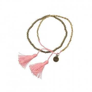 Barts Sari Bracelet Pink