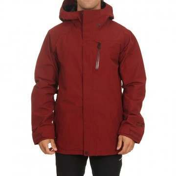 Volcom L Gore Tex Snow Jacket Burnt Red