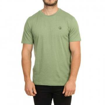 Volcom Circle Blanks HTH Tee Cactus Green