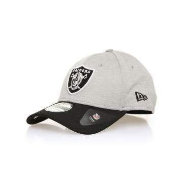 New Era Oakland Raiders Jersey Hex Cap Grey