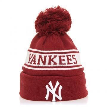 New Era New York Yankees Seasonal Beanie Burgundy