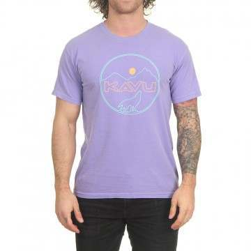 Kavu Join The Pack Tee Faded Purple