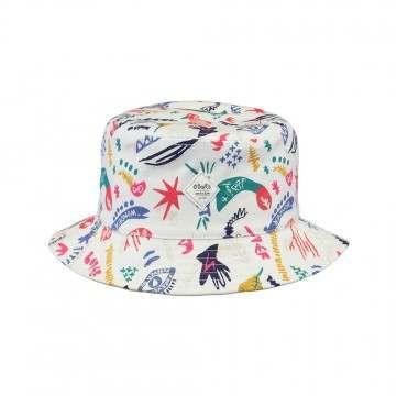 Barts Kids Antigua Reversible Bucket Hat White