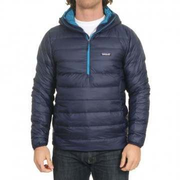Patagonia Down Sweater Hoody Pullover Classic Navy