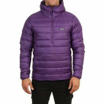 Patagonia Down Sweater Hoody Purple