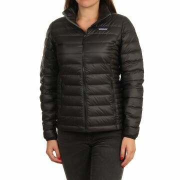 Patagonia Womens Down Sweater Jacket Black