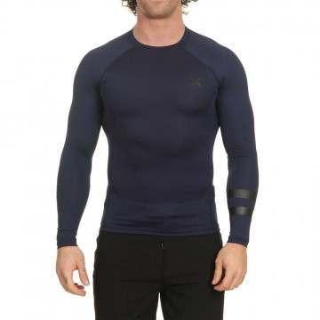 Hurley Pro Light Long Sleeve Rash Vest Obsidian