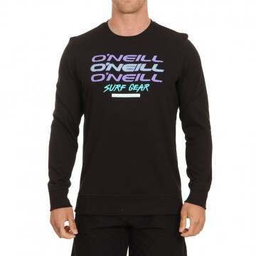 ONeill Triple Logo Crew Black Out