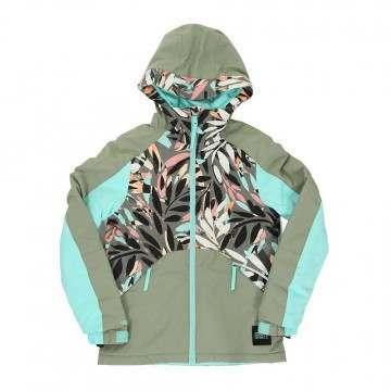 ONeill Girls Allure Snow Jacket Green/Blue