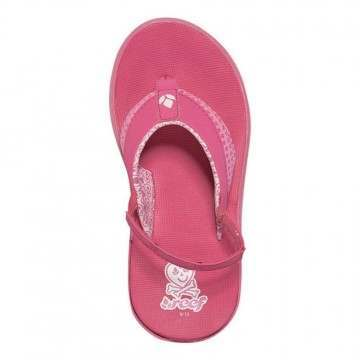 REEF LITTLE TREASURE CHEST SANDALS Hot Pink
