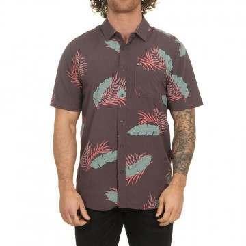 Volcom Bermuda Shirt Dark Charcoal