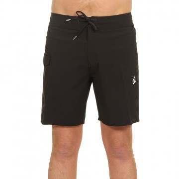Volcom Lido Solid Boardshorts Black