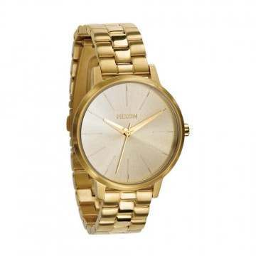 NIXON THE KENSINGTON WATCH All Gold