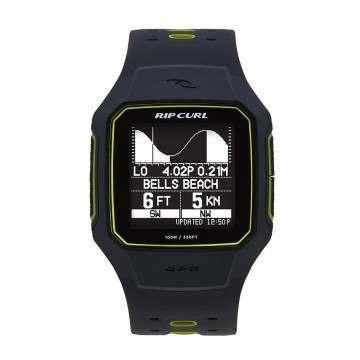 Ripcurl Search GPS 2 Tide Watch Yellow