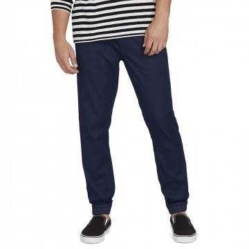 Volcom Denim Jogger Beach Pants Blue