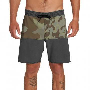 Volcom Vibes Volley Shorts Camo