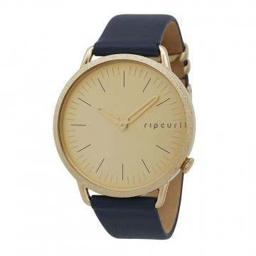 Ripcurl Super Slim Watch Gold Leather