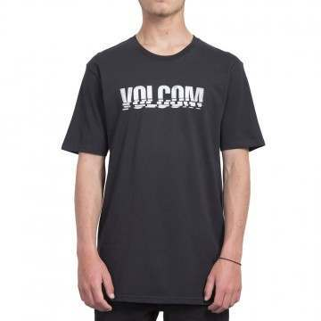 Volcom Chopped Edge Tee Black