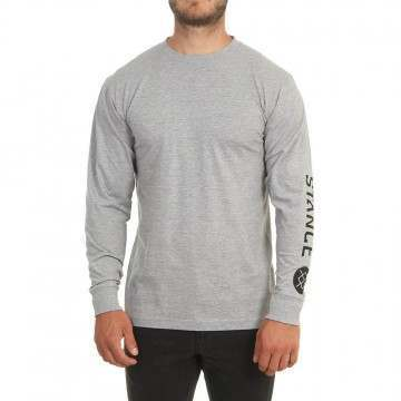 Stance Source Long Sleeve Top Heather Grey