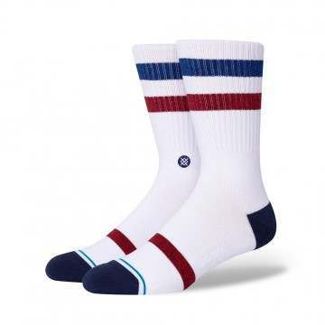 Stance Five Star Socks White
