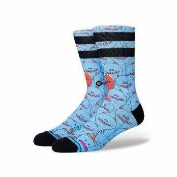 Stance X Rick and Morty Mr Meeseeks Socks Blue
