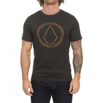 Volcom Pinner Tee Heather Black