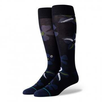 Stance Sonic Bloom Socks Black