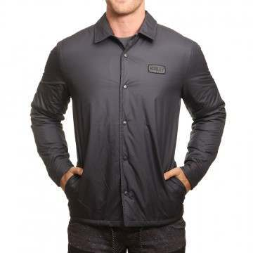 Hurley Oakland Shacket Black
