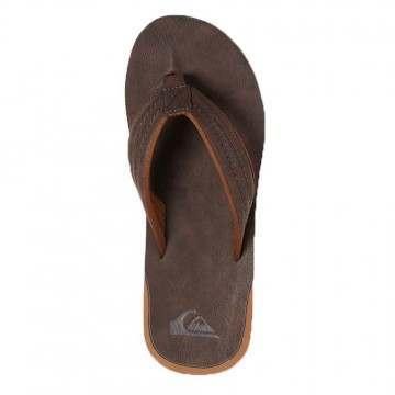 Quiksilver Carver Nubuck Sandals Demitasse