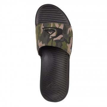 Quiksilver Bright Coast Slider Sandals Green