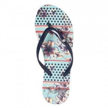 Roxy Portofino II Sandals Light Blue