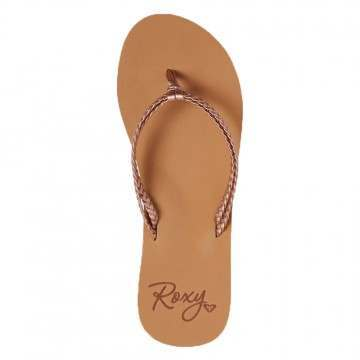 Roxy Costas Sandals Rose Gold