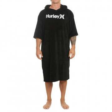 Hurley One & Only Towel Poncho Black