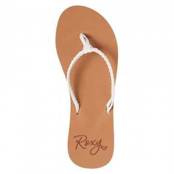 Roxy Costas Sandals White