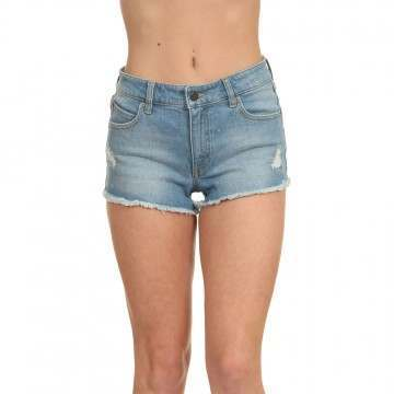 Volcom Stoney Stretch Denim Shorts Blue Relic