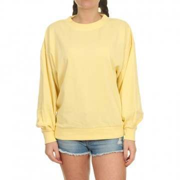 Volcom Dartical Crew Faded Yellow