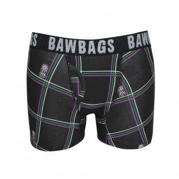 Bawbags Tartan Boxers Black