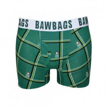 Bawbags Tartan Boxers Green