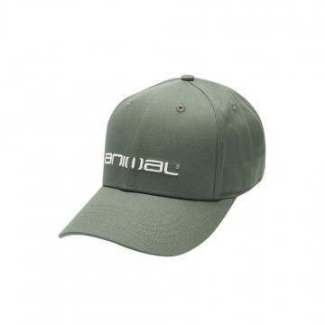 Animal Integral Cap Dusty Olive Green