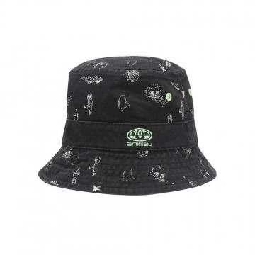 Animal Boys Norfolk Reversible Bucket Hat Black