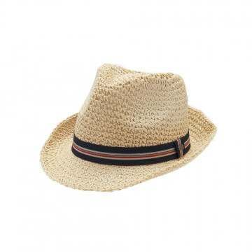 Animal Jet-Set Straw Hat Natural