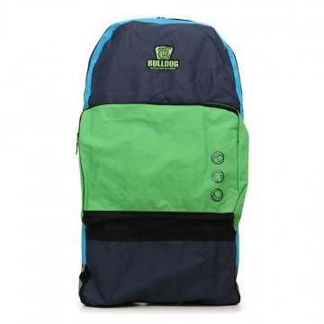 Bulldog Double Bodyboard Bag Backpack Navy/Cyan