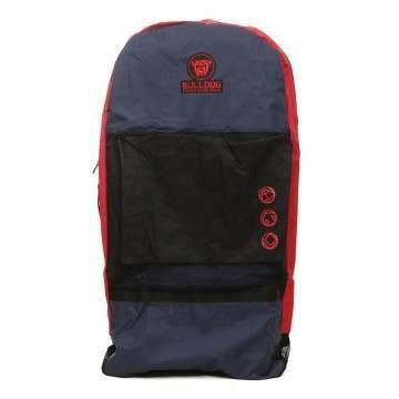 Bulldog Triple Bodyboard Bag Backpack Navy/Red