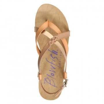 Blowfish Granola-B Sandals Blonde/Pearl Rose Gold